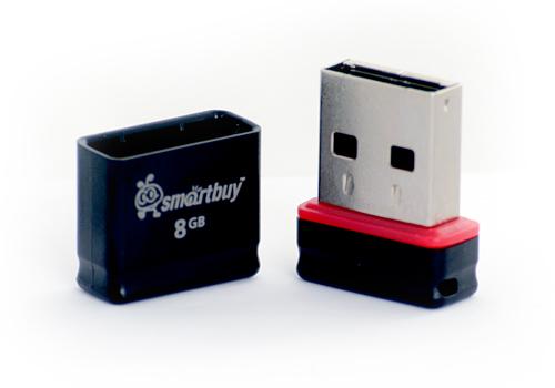 Флеш-накопитель 8Gb SmartBuyPocket series Black - 300р.
