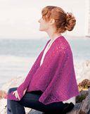 Ажурные шали в винтажном стиле. Спицы — фото, картинка — 2