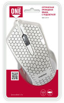 Проводная оптическая мышь Smartbuy ONE 334 (White) — фото, картинка — 5