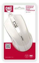 Проводная оптическая мышь Smartbuy ONE 338 (White) — фото, картинка — 4