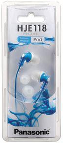 Наушники Panasonic RP-HJE118GUA (синие) — фото, картинка — 3