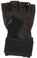 Перчатки атлетические SU-123 (S; чёрные) — фото, картинка — 1