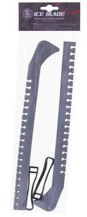 Чехлы для лезвия коньков (пара; серебристые) — фото, картинка — 1
