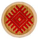 Магнит деревянный