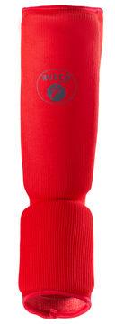 Защита голень-стопа (L; красная) — фото, картинка — 1