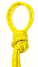 Скакалка для художественной гимнастики Pro 10103 (жёлтая) — фото, картинка — 1