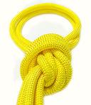 Скакалка для художественной гимнастики Pro 10103 (жёлтая) — фото, картинка — 2