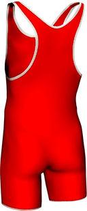 Трико борцовское MA-401 (р. 52; красное) — фото, картинка — 1