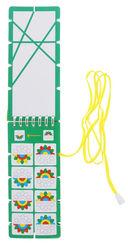Учимся различать цвета и формы. Игры со шнурком — фото, картинка — 1
