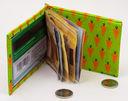 Зажим для денег с монетницей